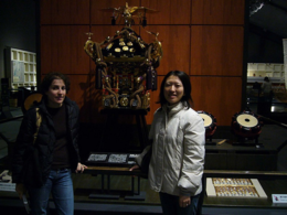 Checking out artifacts at the Edo Museum., kellythepea - October 2010