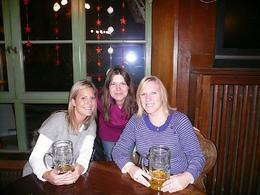 Enjoying a bier with our fantastic tour guide! - January 2009