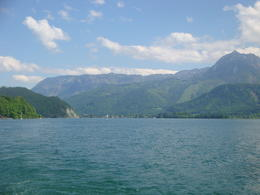 A picture of beautiful Austria from our boat trip. , Jamie L - June 2013