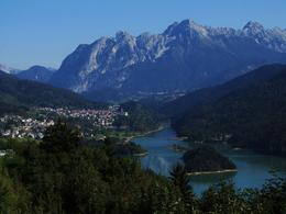 Photo of Venice Dolomite Mountains Small Group Day Trip from Venice Lake Pieve di Cadore