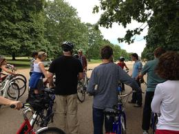 Photo of London London Royal Parks Bike Tour including Hyde Park Safety instructions from our excellent guide