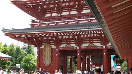 Photo of Tokyo Tokyo Morning Tour: Meiji Shrine, Senso-ji Temple and Ginza Shopping District Senso-ji Temple