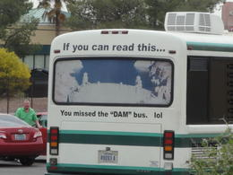 The Dam Bus (lol) , Dolores K - April 2013