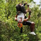 Photo of Riviera Maya & the Yucatan Cancun Extreme Zipline Canopy Tour Upside down