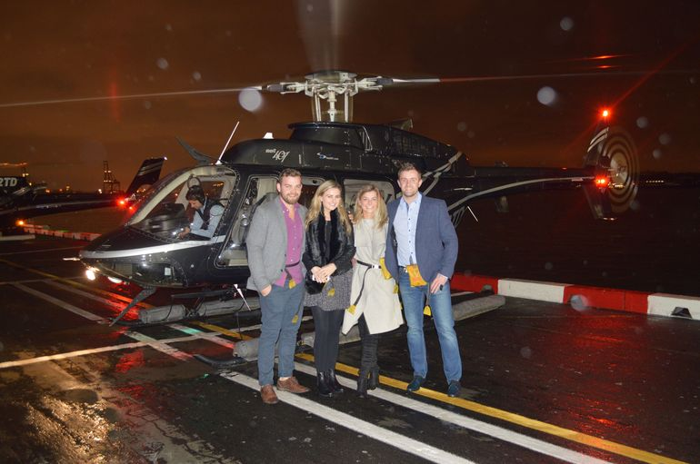Viator NYC Night Helicopter Flight  Statue of Liberty Cruise