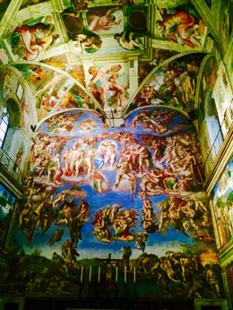 Vatican Last Judgement wall, Nancy - October 2014