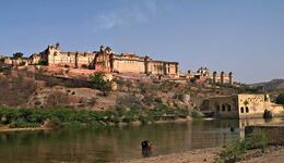 Photo of Jaipur Private Tour: Amber Fort and Jal Mahal Including Elephant Ride Amber Fort