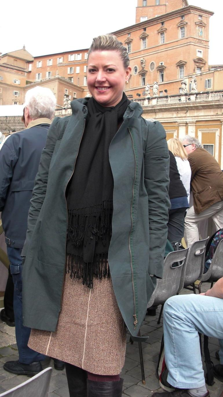 At St. Peter's Basilica - Rome