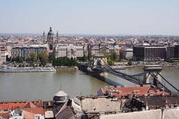 Budapest Day Trip from Vienna: A view of the chain bridge from the Buda side of the river., Hendrik H - May 2009