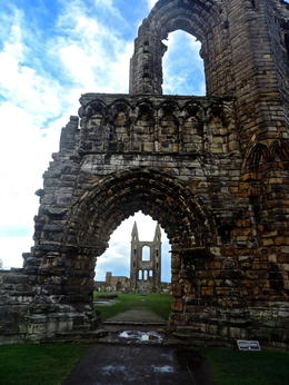 cathedral ruins at st andrews...there is a great story to why this town changed it's name! This tour tells you all about that!! , Brittany P - February 2014