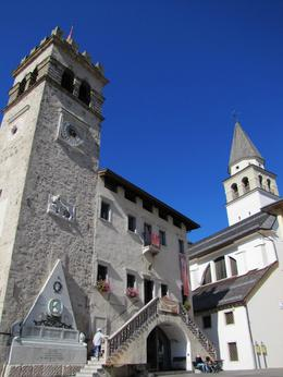 Pieve di Cadore is a charming town where the painter Titian was born and lived. , Lis - October 2011