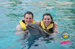 Together with the dolphin. - April 2011
