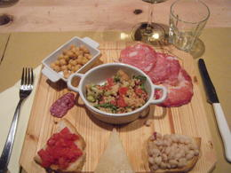 Fantastic food plate , Suzanne B - October 2012