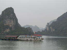 Photo of Hanoi Halong Bay Small Group Adventure Tour including Cruise, from Hanoi Example of visibility