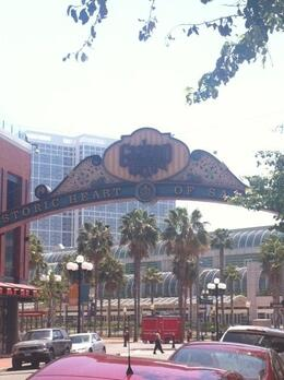 Photo of   Gaslamp Sign