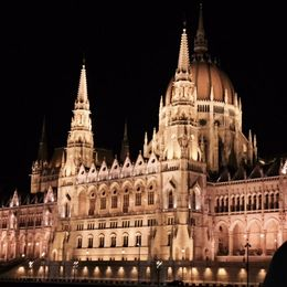 Budapest's lights from the Danube, simply AMAZING! , John M - October 2015