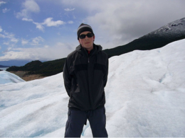 Photo of   J on Perito Moreno