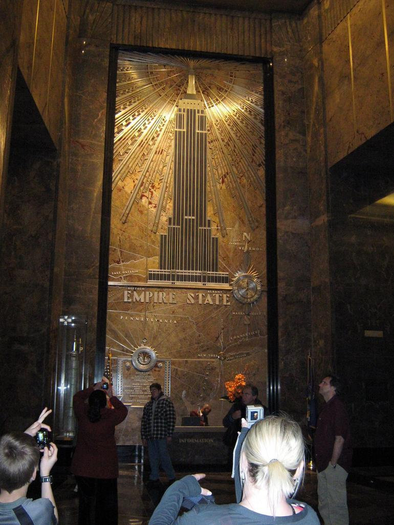 lobby of empier state building - New York City