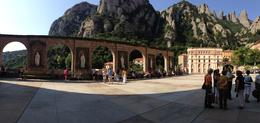 Panoramic view of the plaza , Saundra B - July 2013