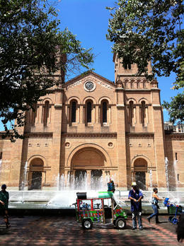 Outside the Metropolitan Cathedral in Medellin., Bandit - September 2012