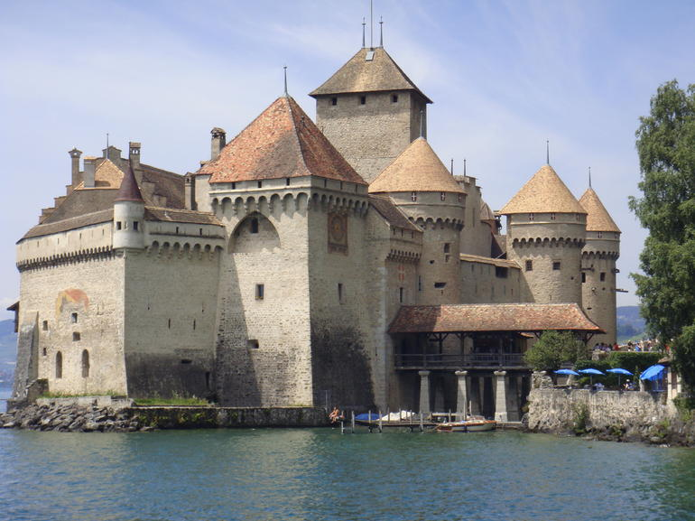Chillon Castle, Montreux - Geneva