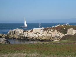 Pacific Grove is at the Northern End of the 17 mile drive, you can actually drive this part without paying the toll., Undercover Américan - October 2010