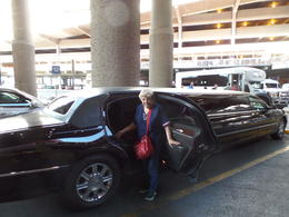 Photo of Las Vegas Private Las Vegas Airport to Hotel Luxury Limousine Transfer Playing high roller