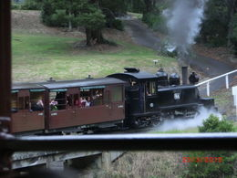 Photo of Melbourne Yarra Valley Wineries and Puffing Billy Steam Train Day Tour from Melbourne pulling us
