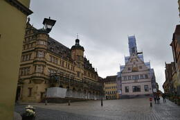 Rothenburg Marktplatz - town square , Fabio M - June 2013
