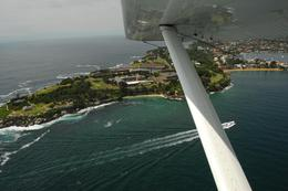 Another view from the seaplane., Jeff - February 2008