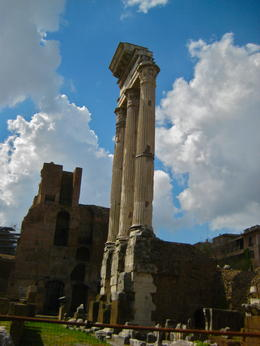 Photo of Rome Skip the Line: Ancient Rome and Colosseum Half-Day Walking Tour Temple of Jupiter