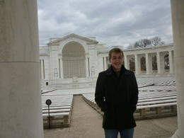 This is what we saw right before we got to the actual Tomb of the Unknown Soldier, Irene - November 2012