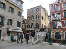 Walking through Venice we saw some interesting sites. , Phillip S - March 2014