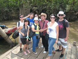 Photo of Ho Chi Minh City Mekong Delta Discovery Small Group Adventure Tour from Ho Chi Minh City '8' of us.
