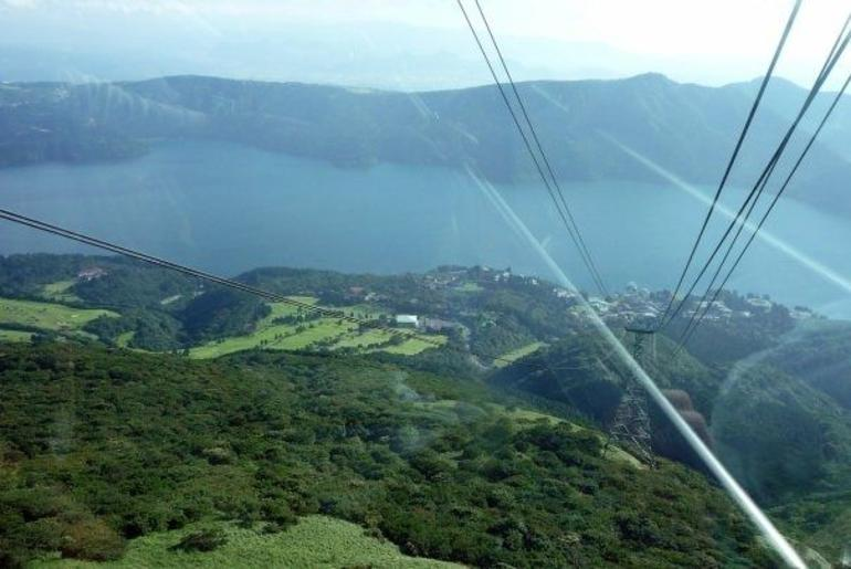 Another view from the Hakone Ropeway - Tokyo