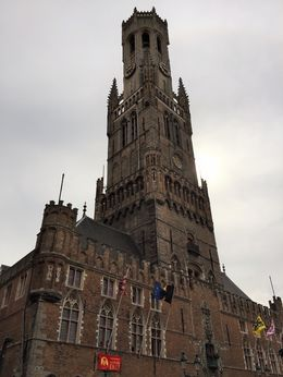 Bell Tower in centre of Brugge , Tony V - September 2015
