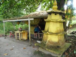 A small structure inside the island - June 2012