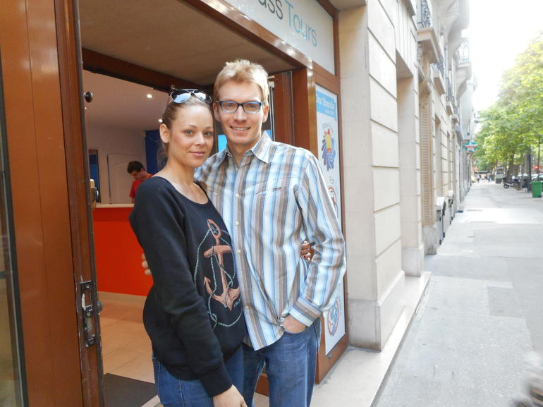 In front of the Tour Office - Paris