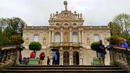 Looking up at the front of Linderhof Palace. , Jeff E - September 2014
