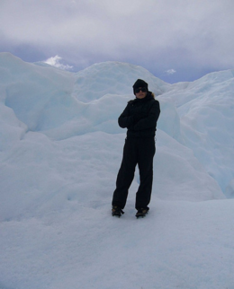 Photo of   Me on Perito Moreno