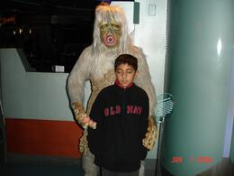 Monster holding my son., Sumit B - January 2008