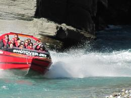 Shotover Jet, Queenstown Triple Challenge - May 2010