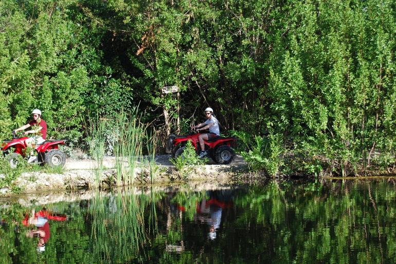 Riding by the water: Cancun by ATV - Cancun