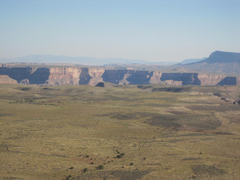 The Canyon from a distance - Las Vegas