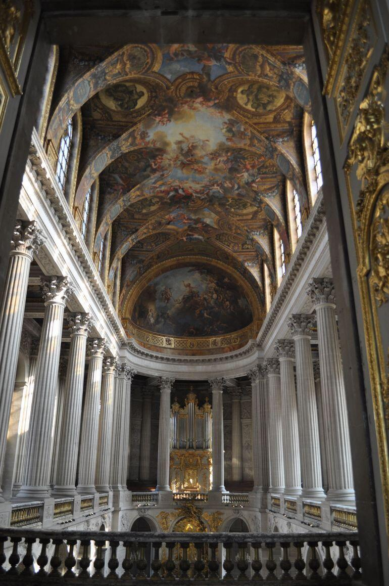 View from the second floor of the chapel - Paris