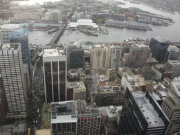 Photo of Sydney Sydney Tower Restaurant Buffet view from tower restaurant