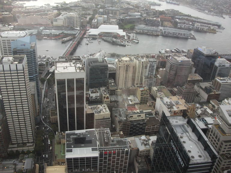 view from tower restaurant - Sydney