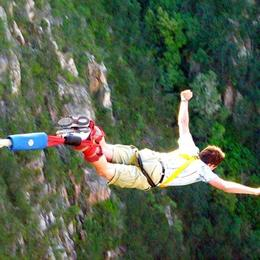 Photo of Cape Town 4-Day Garden Route Tour from Cape Town Bungee Jumping