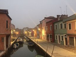 This was about as light as we saw Burano... I wish we could have skipped Torcello so we could have seen this beautiful island during the day! , Michael C - November 2015