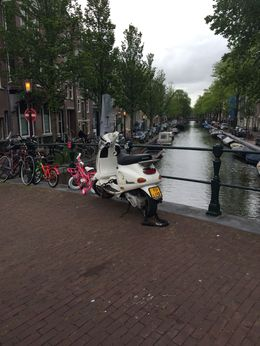 Canals and bikes. , Lora D - June 2015